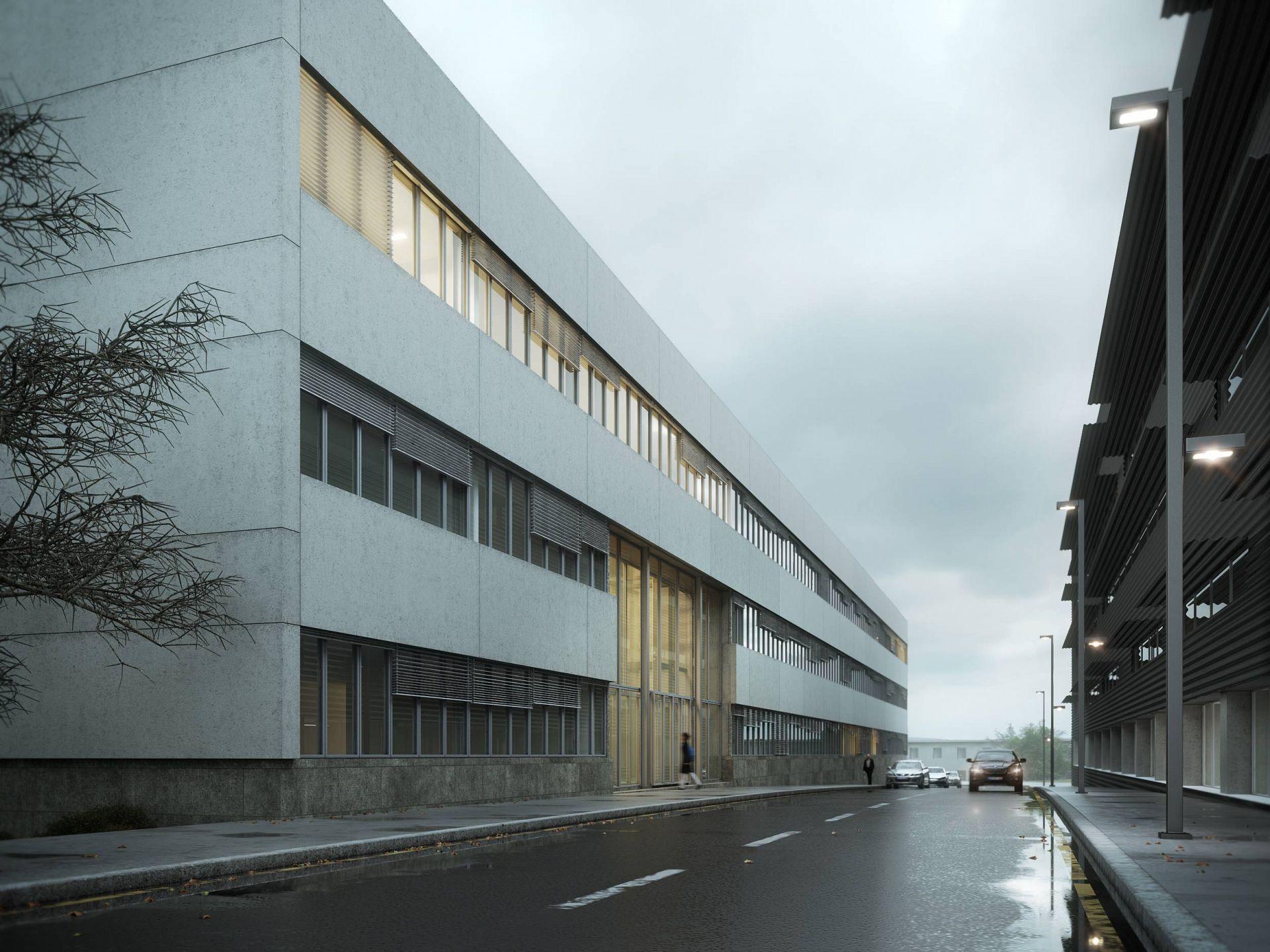 Biomed Facility In Coimbra Metro C Bico Digital
